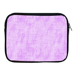 Hidden Pain In Purple Apple Ipad Zippered Sleeve by FunWithFibro
