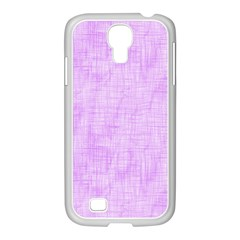 Hidden Pain In Purple Samsung Galaxy S4 I9500/ I9505 Case (white) by FunWithFibro