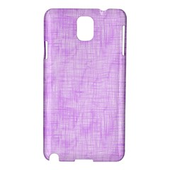 Hidden Pain In Purple Samsung Galaxy Note 3 N9005 Hardshell Case by FunWithFibro