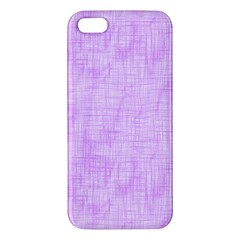 Hidden Pain In Purple Iphone 5s Premium Hardshell Case by FunWithFibro