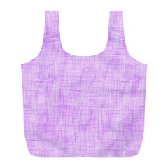 Hidden Pain In Purple Reusable Bag (l) by FunWithFibro