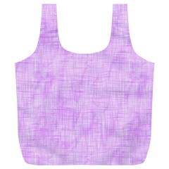 Hidden Pain In Purple Reusable Bag (xl) by FunWithFibro