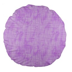 Hidden Pain In Purple 18  Premium Flano Round Cushion  by FunWithFibro