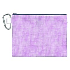 Hidden Pain In Purple Canvas Cosmetic Bag (xxl) by FunWithFibro