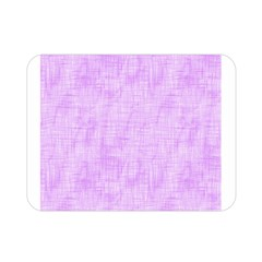 Hidden Pain In Purple Double Sided Flano Blanket (mini) by FunWithFibro