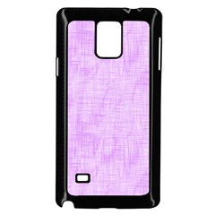 Hidden Pain In Purple Samsung Galaxy Note 4 Case (black) by FunWithFibro