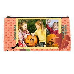 Halloween, Happy, Fun By Helloween   Pencil Case   Wv0n9pgvhnut   Www Artscow Com Front