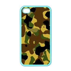 Camo Pattern  Apple Iphone 4 Case (color)