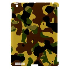 Camo Pattern  Apple Ipad 3/4 Hardshell Case (compatible With Smart Cover)
