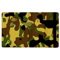 Camo Pattern  Apple Ipad 3/4 Flip Case by Colorfulart23