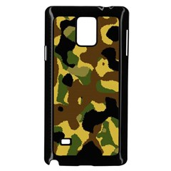 Camo Pattern  Samsung Galaxy Note 4 Case (Black) by Colorfulart23