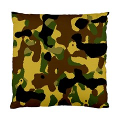 Camo Pattern  Cushion Case (two Sided)  by Colorfulart23