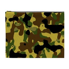 Camo Pattern  Cosmetic Bag (xl) by Colorfulart23
