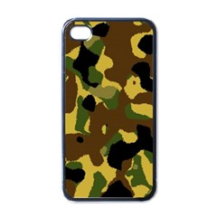 Camo Pattern  Apple Iphone 4 Case (black) by Colorfulart23