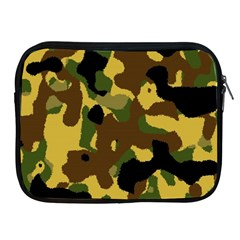 Camo Pattern  Apple Ipad Zippered Sleeve by Colorfulart23