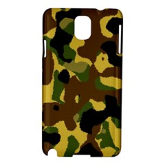 Camo Pattern  Samsung Galaxy Note 3 N9005 Hardshell Case by Colorfulart23