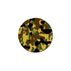 Camo Pattern  Golf Ball Marker 4 Pack by Colorfulart23