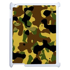 Camo Pattern  Apple Ipad 2 Case (white) by Colorfulart23