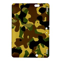 Camo Pattern  Kindle Fire Hdx 8 9  Hardshell Case by Colorfulart23