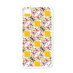 Dots And Rhombus Apple Iphone 4 Case (white) by LalyLauraFLM