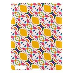 Dots And Rhombus Apple Ipad 3/4 Hardshell Case by LalyLauraFLM