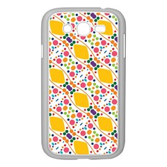 Dots And Rhombus Samsung Galaxy Grand Duos I9082 Case (white) by LalyLauraFLM