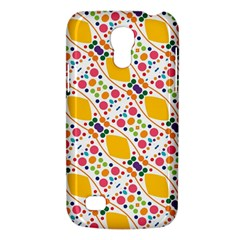 Dots And Rhombus Samsung Galaxy S4 Mini (gt I9190) Hardshell Case  by LalyLauraFLM