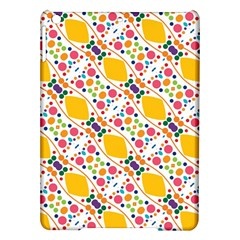 Dots And Rhombus Apple Ipad Air Hardshell Case by LalyLauraFLM