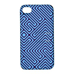 Blue Maze Apple Iphone 4/4s Hardshell Case With Stand by LalyLauraFLM