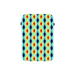 Yellow Chains Pattern Apple Ipad Mini Protective Soft Case by LalyLauraFLM