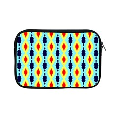 Yellow Chains Pattern Apple Ipad Mini Zipper Case by LalyLauraFLM
