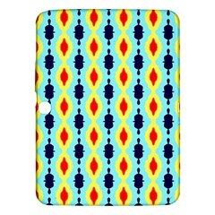Yellow Chains Pattern Samsung Galaxy Tab 3 (10 1 ) P5200 Hardshell Case  by LalyLauraFLM