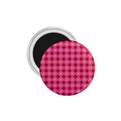 Abstract Pink Floral Tile Pattern 1 75  Button Magnet by creativemom