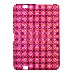 Abstract Pink Floral Tile Pattern Kindle Fire Hd 8 9  Hardshell Case by creativemom