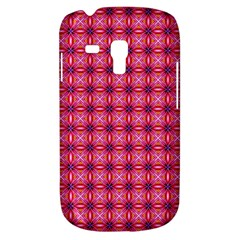 Abstract Pink Floral Tile Pattern Samsung Galaxy S3 Mini I8190 Hardshell Case by creativemom