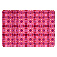 Abstract Pink Floral Tile Pattern Samsung Galaxy Tab 10 1  P7500 Flip Case by creativemom