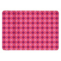 Abstract Pink Floral Tile Pattern Samsung Galaxy Tab 8 9  P7300 Flip Case by creativemom