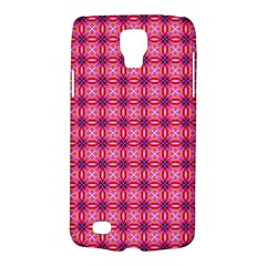 Abstract Pink Floral Tile Pattern Samsung Galaxy S4 Active (i9295) Hardshell Case by creativemom