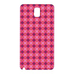 Abstract Pink Floral Tile Pattern Samsung Galaxy Note 3 N9005 Hardshell Back Case by creativemom