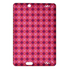 Abstract Pink Floral Tile Pattern Kindle Fire HD (2013) Hardshell Case by creativemom