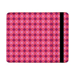 Abstract Pink Floral Tile Pattern Samsung Galaxy Tab Pro 8 4  Flip Case by creativemom