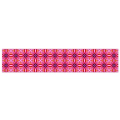 Abstract Pink Floral Tile Pattern Flano Scarf (small) by creativemom