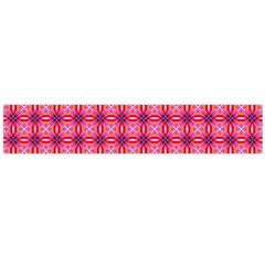 Abstract Pink Floral Tile Pattern Flano Scarf (large) by creativemom