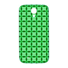 Green Abstract Tile Pattern Samsung Galaxy S4 I9500/i9505  Hardshell Back Case by creativemom