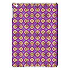 Purple Decorative Quatrefoil Apple Ipad Air Hardshell Case by creativemom
