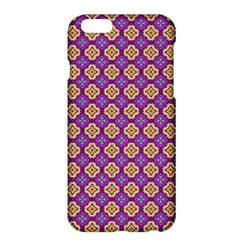 Purple Decorative Quatrefoil Apple Iphone 6 Plus Hardshell Case by creativemom