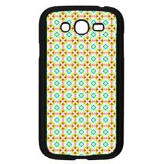Aqua Mint Pattern Samsung Galaxy Grand Duos I9082 Case (black) by creativemom