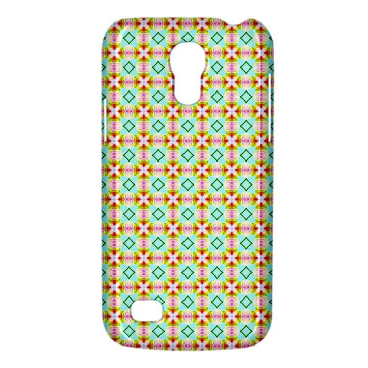Aqua Mint Pattern Samsung Galaxy S4 Mini (GT-I9190) Hardshell Case