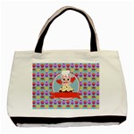 Cupcake with Cute Pig Chef Classic Tote Bag