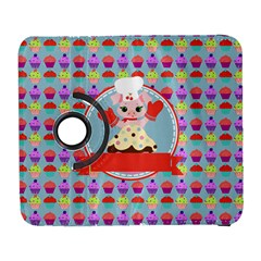 Cupcake With Cute Pig Chef Samsung Galaxy S  Iii Flip 360 Case by creativemom